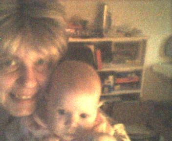 Me and my Gran'baby.  Ain't she cute!?